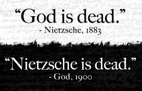 (AFRICAN?) GOD IS DEAD, OR IS IT NIETZSCHE WHO'S DEAD?