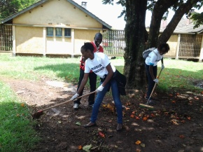 RODCA YOUTHS LED OTHERS IN CLEANING UP ELDORET POLICE STATION