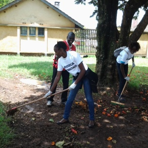 RODCA YOUTHS LED OTHERS IN CLEANING UP ELDORET POLICESTATION